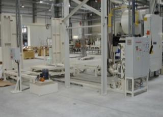 Výstavba technologických linek